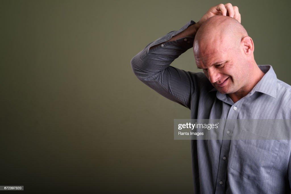 Bald mature