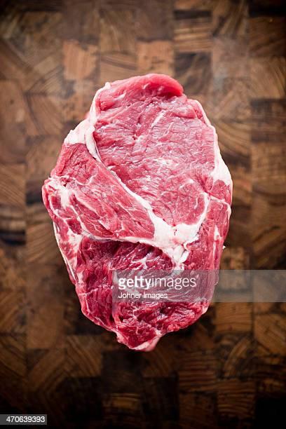 Studio shot of raw meat