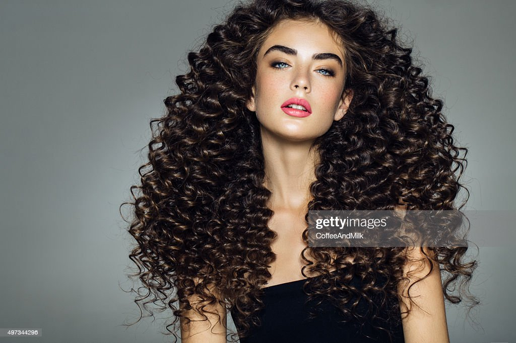 curl?power: Beautiful Girls, With Curly Hair on We Heart It - http ...
