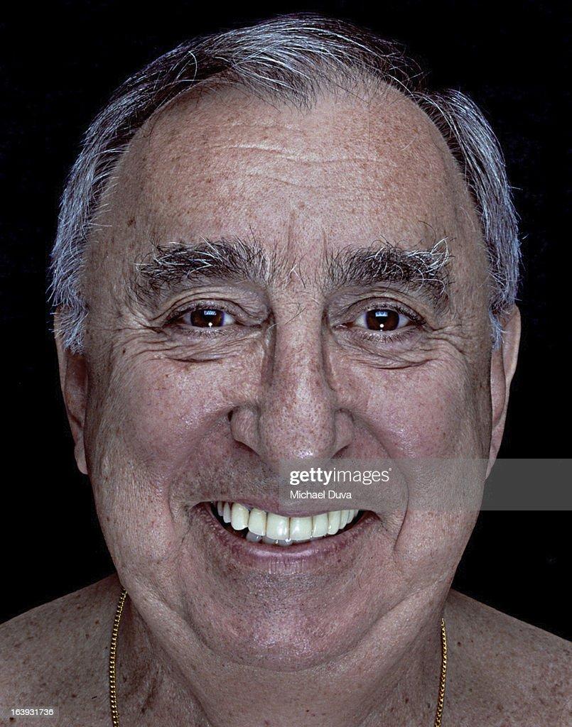 studio shot senior citizen on a black background, : Stock Photo