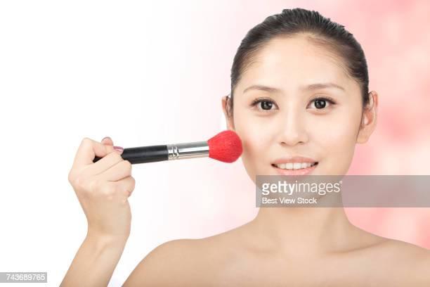 Studio shot Young woman beauty