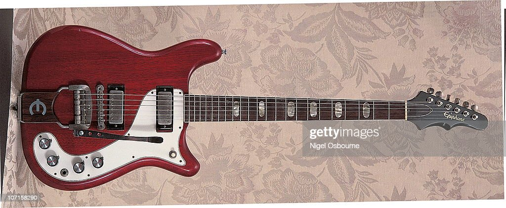 Epiphone Solid Body Pictures Getty Images