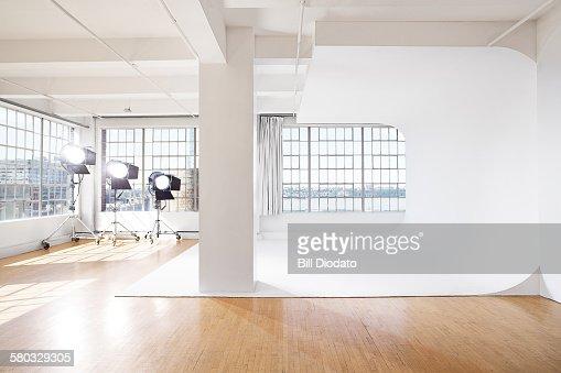 studio with HMI's