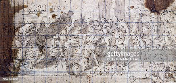 an introduction to the analysis of the wedding at cana Wedding at canna the wedding at cana was painted by giotto di bondone between the years 1304-1306 this painting is part of a series of frescoes painted in the capella scrovegni (arena chapel.