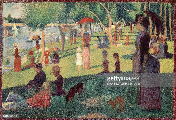 Study on La Grande Jatte by Georges Seurat New York The Metropolitan Museum Of Art