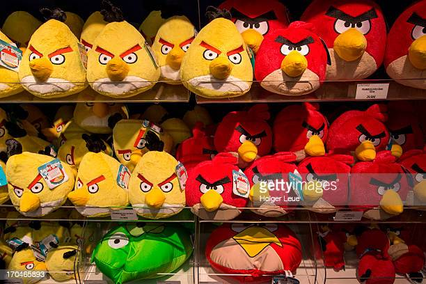 Stuffed Angry Birds toys for sale