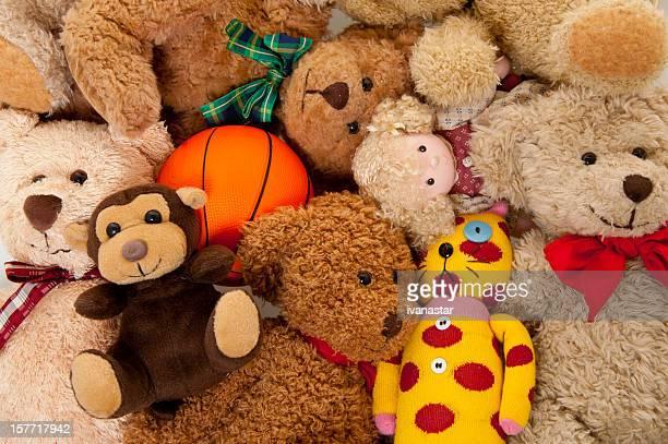 Stuffed Animals Background