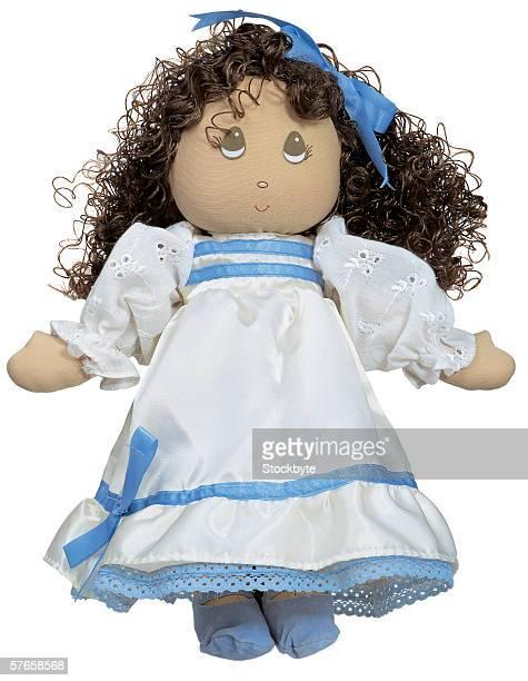 stuffed cloth female doll
