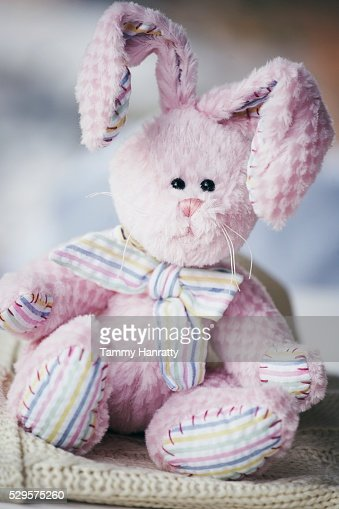 Stuffed Easter Bunny : Foto stock