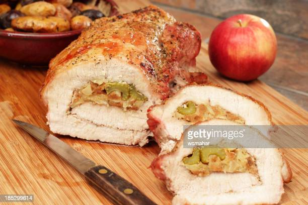 Stuffed Roasted Pork Loin