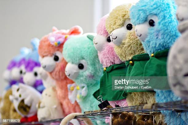 Stuffed Toys In Shop For Sale