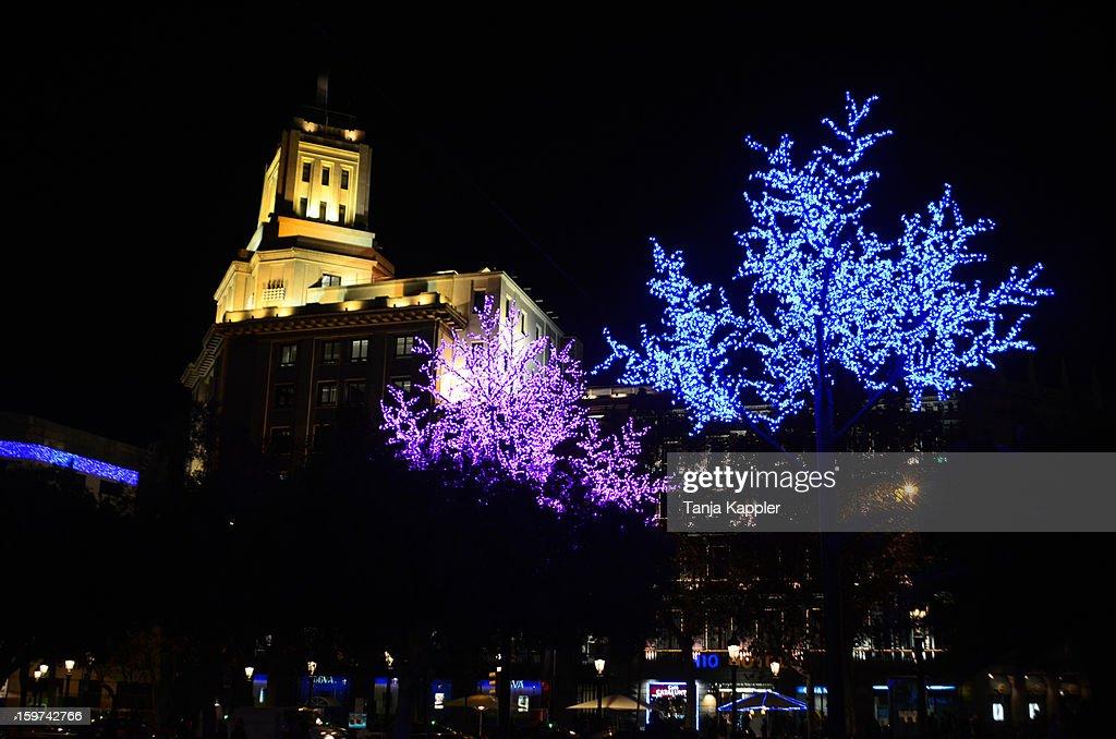 Stunning Christmas Lights Barcelona