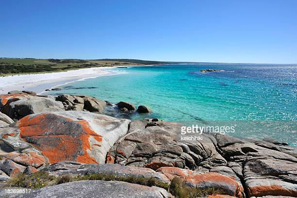 A stunning landscape of Bay of Fires