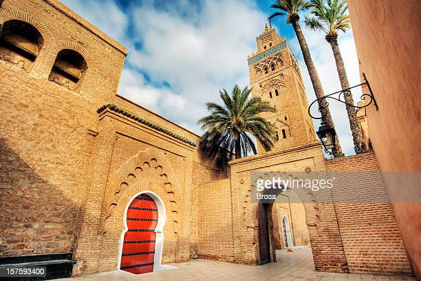 A stunning mosque in Koutoubia