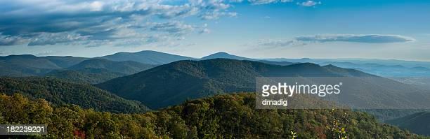 Blue Ridge Mountains Panorama