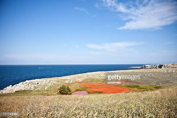 Meraviglioso paesaggio marino del Salento