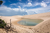 Stunning scenario at north of Brazil