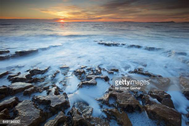 Stunning Seascape Photograph at Sunrise