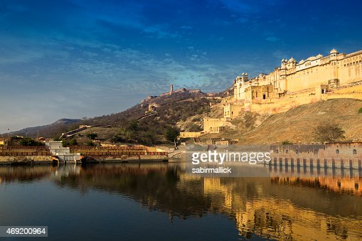 A stunning view of Amer Fort, Rajasthan, India