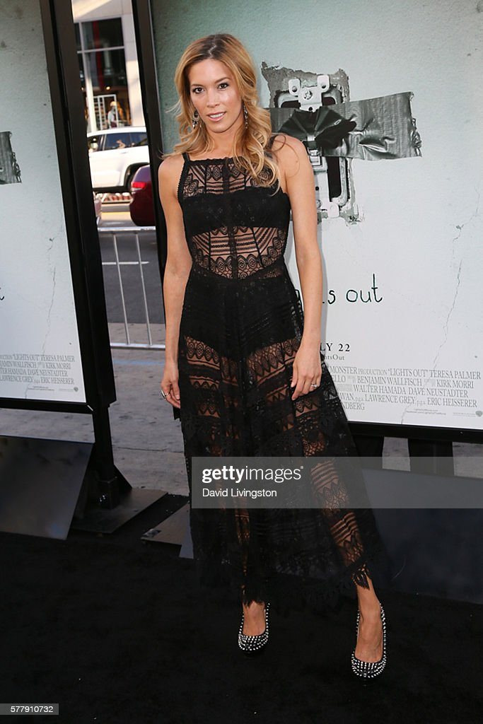 Stunt performer Alicia VelaBailey arrives at the premiere of New Line Cinema's 'Lights Out' at the TCL Chinese Theatre on July 19 2016 in Hollywood...