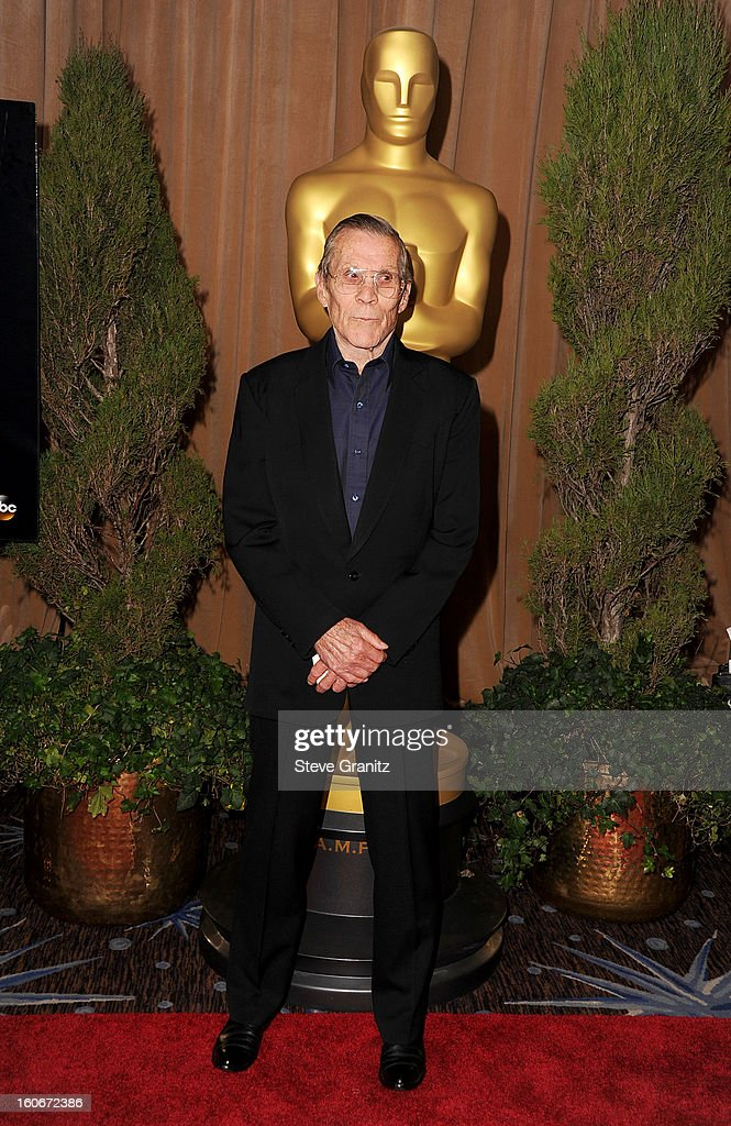 Stuntman Hal Needham attends the 85th Academy Awards Nominees Luncheon at The Beverly Hilton Hotel on February 4, 2013 in Beverly Hills, California.