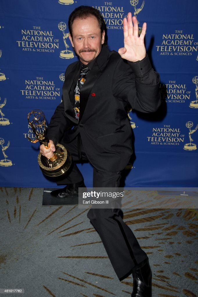 Stuntman Skip Carlsen attends the Daytime Creative Arts Emmy Awards Gala at the Westin Bonaventure Hotel on June 20, 2014 in Los Angeles, California.