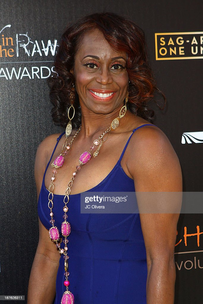Stuntwoman LaFaye Baker attends The 6th Annual Diamond In The RAW-Action Icon Awards at Skirball Cultural Center on November 10, 2013 in Los Angeles, California.