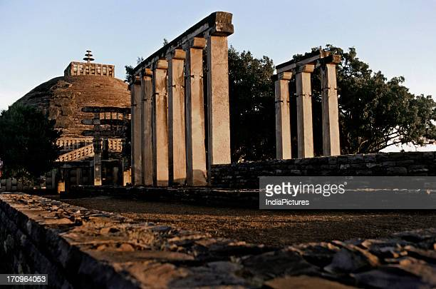Stupa Sanchi Madhya Pradesh India