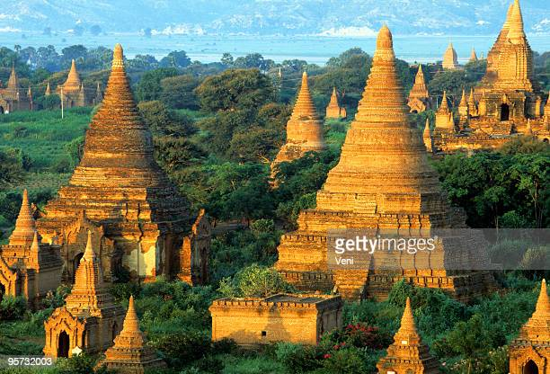 Stupas and Payas, Bagan, Myanmar
