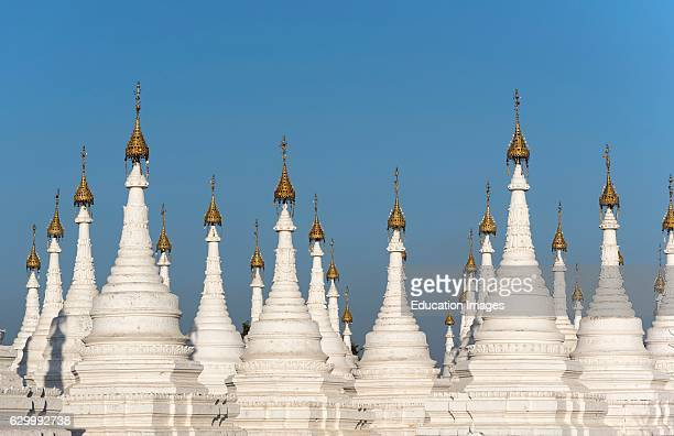 Stupas of Sandamuni Sanda Muni Pagoda Paya Mandalay Burma Myanmar