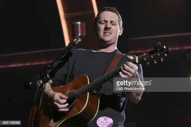 Sturgill Simpson and The DapKings perform during rehearsals for THE 59TH ANNUAL GRAMMY AWARDS scheduled to broadcast live from the STAPLES Center in...