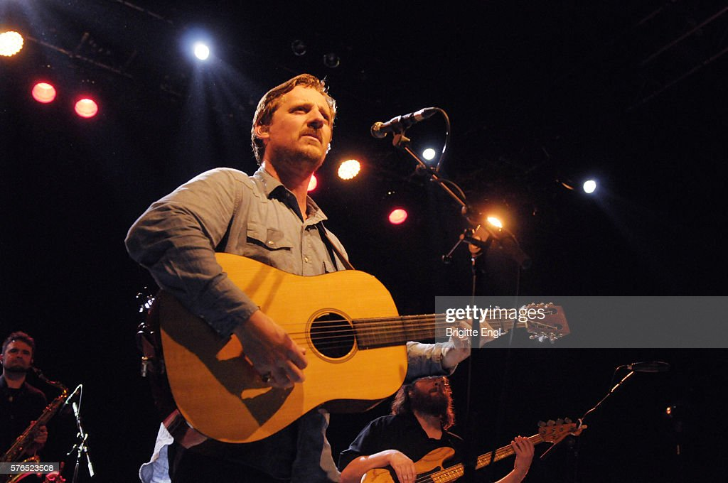 Sturgill Simpson performs at O2 Shepherd's Bush Empire on July 15 2016 in London England