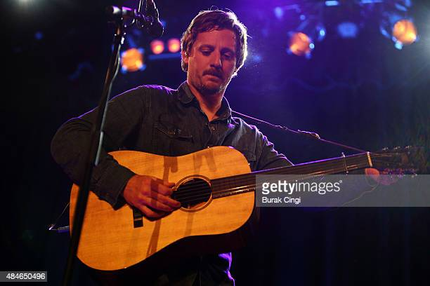 Sturgill Simpson performs live on stage at Islington Assembly Hall on August 20 2015 in London England
