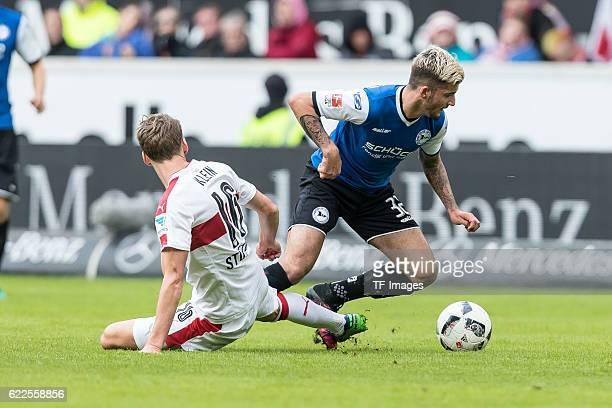 Stuttgart Deutschland 2 Bundesliga 12 Spieltag VfB Stuttgart DSC Arminia Bielefeld feature Florian Klein gegen Keanu Staude