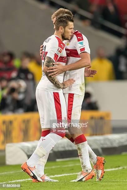 Stuttgart Deutschland 2 Bundesliga 10 Spieltag VfB Stuttgart TSV 1860 Muenchen Feature Wechsel Stuttgart Daniel Ginczek kommt fuer Simon Terodde