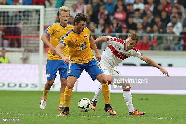 Stuttgart Germany 2BL VfB Stuttgart vs Eintracht Braunschweig Quirin Moll Alexandru Maxim