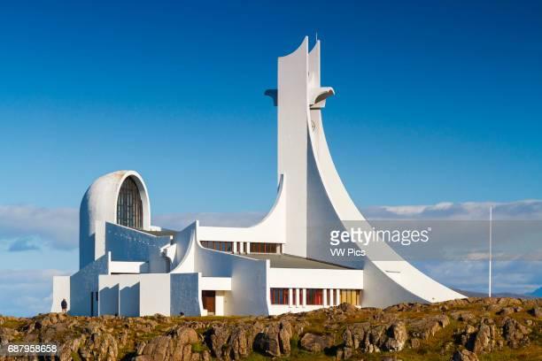 StykkisHolmur church Iceland