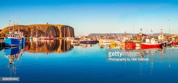 Stykkisholmur Harbor and Sugandisey Mountain/Island