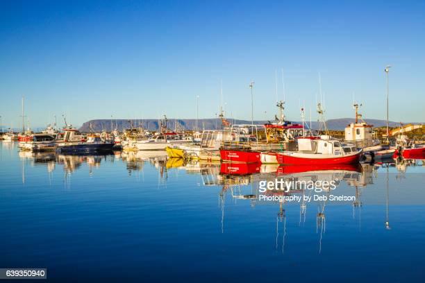 Stykkisholmur Harbor Boats