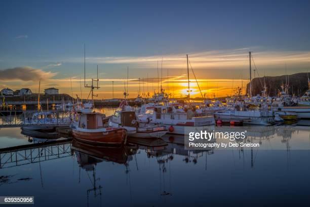 Stykkisholmur Harbor Sunset