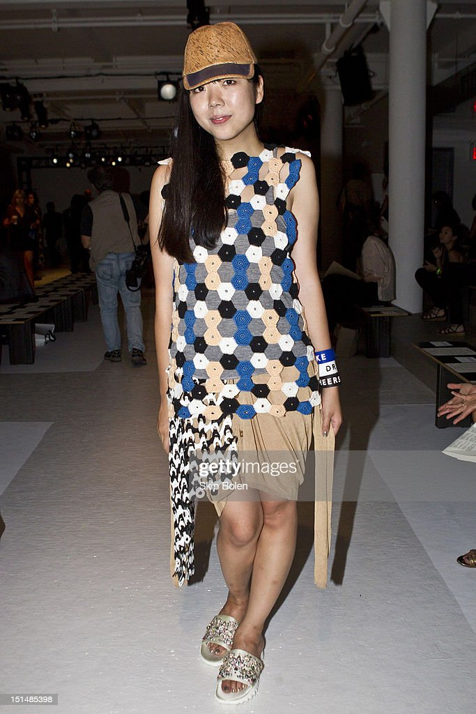 Style blogger Susie Bubble attends the Suno spring 2013 fashion show during Mercedes-Benz Fashion Week at Milk Studios on September 7, 2012 in New York City.