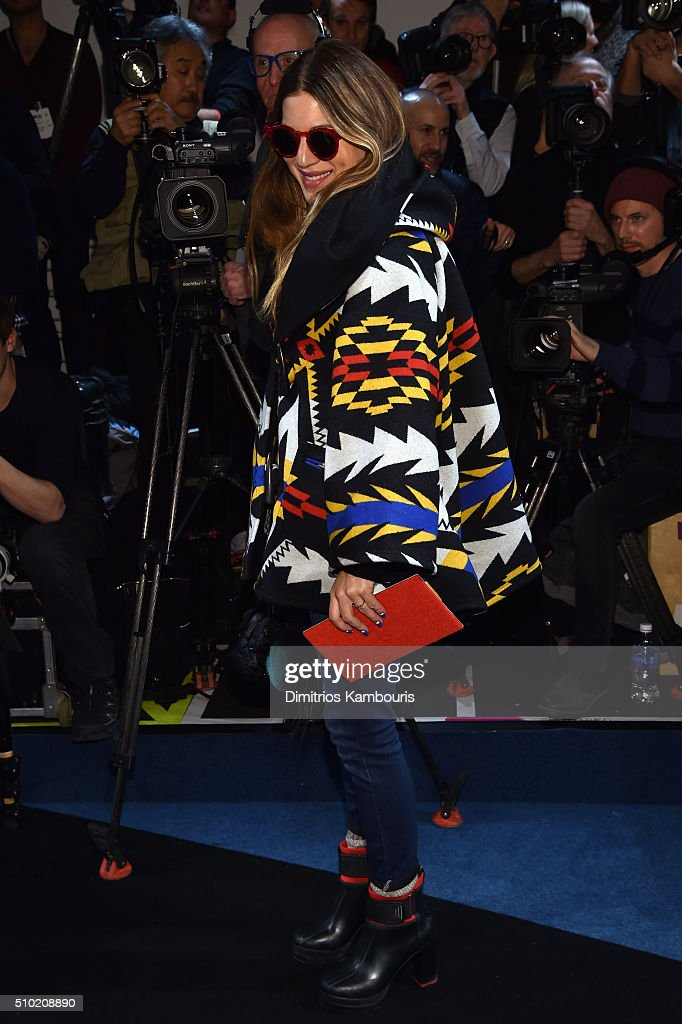 Style Director at NYLON Magazine, <a gi-track='captionPersonalityLinkClicked' href=/galleries/search?phrase=Dani+Stahl&family=editorial&specificpeople=589555 ng-click='$event.stopPropagation()'>Dani Stahl</a>, attends the Derek Lam Fall 2016 fashion show during New York Fashion Week: The Shows at The Gallery, Skylight at Clarkson Sq on February 14, 2016 in New York City.
