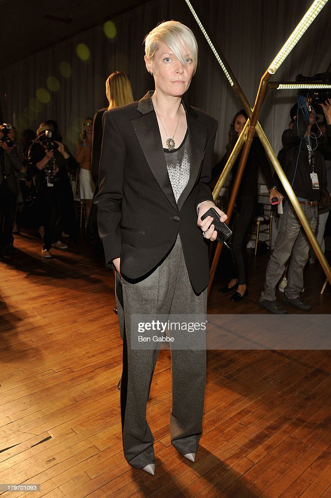 Style director Kate Lanphear attends the Jason Wu fashion show during MercedesBenz Fashion Week Spring 2014 at 82 Mercer on September 6 2013 in New...