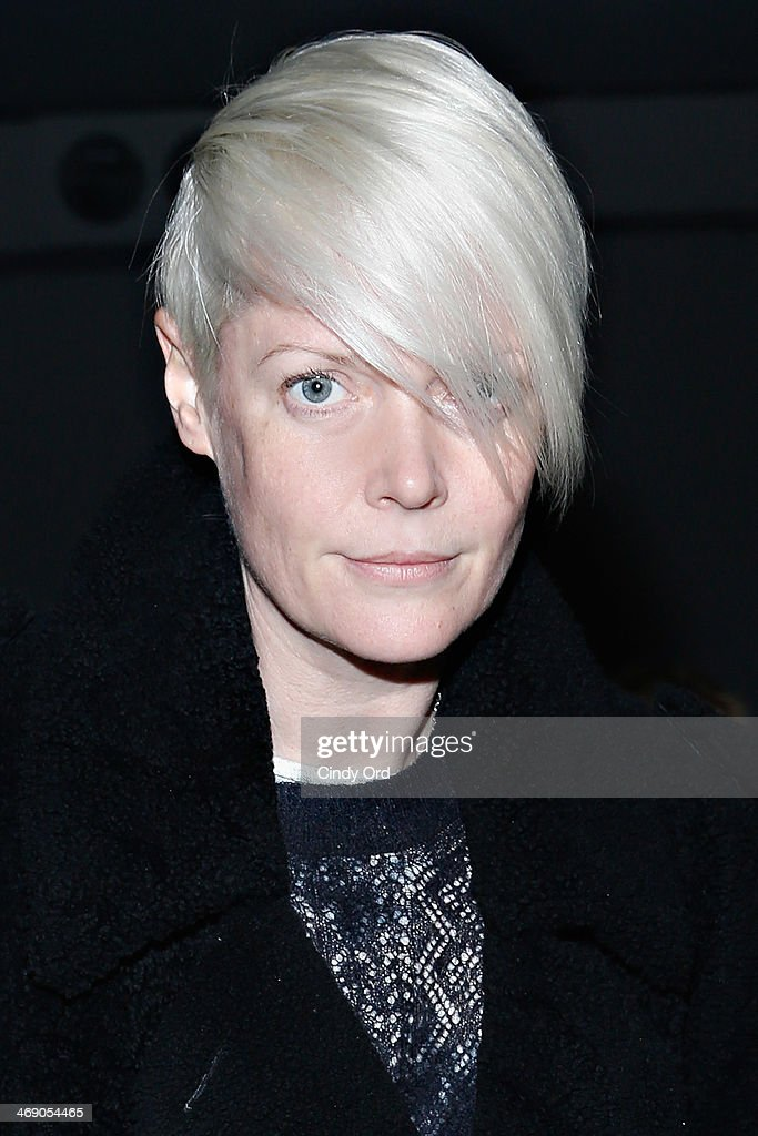Style director of T Magazine Kate Lanphear attends the Reed Krakoff fashion show during MercedesBenz Fashion Week Fall 2014 on February 12 2014 in...