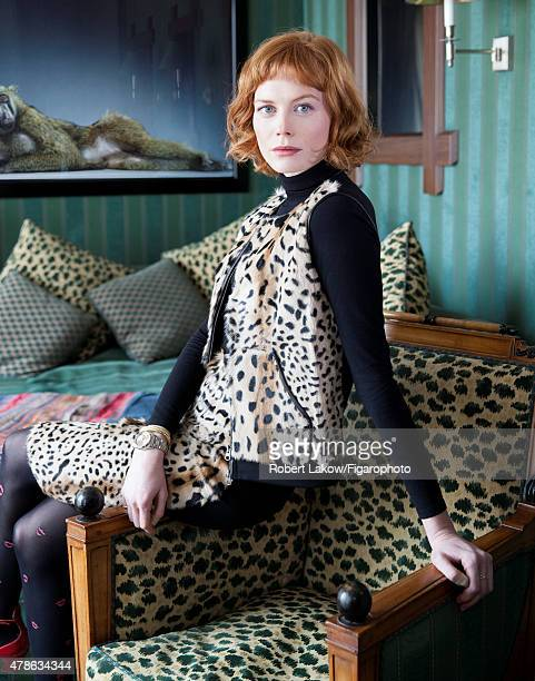 Style Editor Jessica Joffe is photographed for Madame Figaro on March 4 2015 in Paris France Clothing PUBLISHED IMAGE CREDIT MUST READ Robert...
