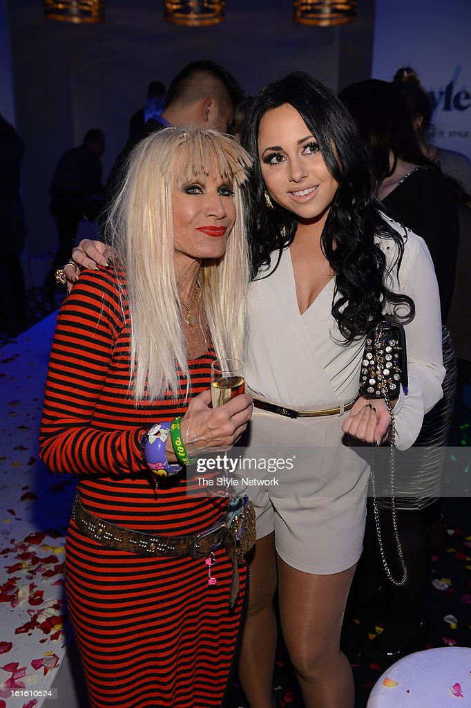 NETWORK - EVENTS -- Style Fashion Week Event -- Pictured: (l-r) Betsey Johnson and Gigi Liscio at the Style Fashion Week Event on Tuesday, February 12, 2013 at Lincoln Center in New York --