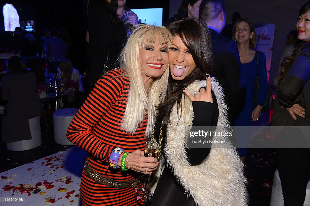 NETWORK - EVENTS -- Style Fashion Week Event -- Pictured: (l-r) Betsey Johnson and Tracy DiMarco at the Style Fashion Week Event on Tuesday, February 12, 2013 at Lincoln Center in New York --