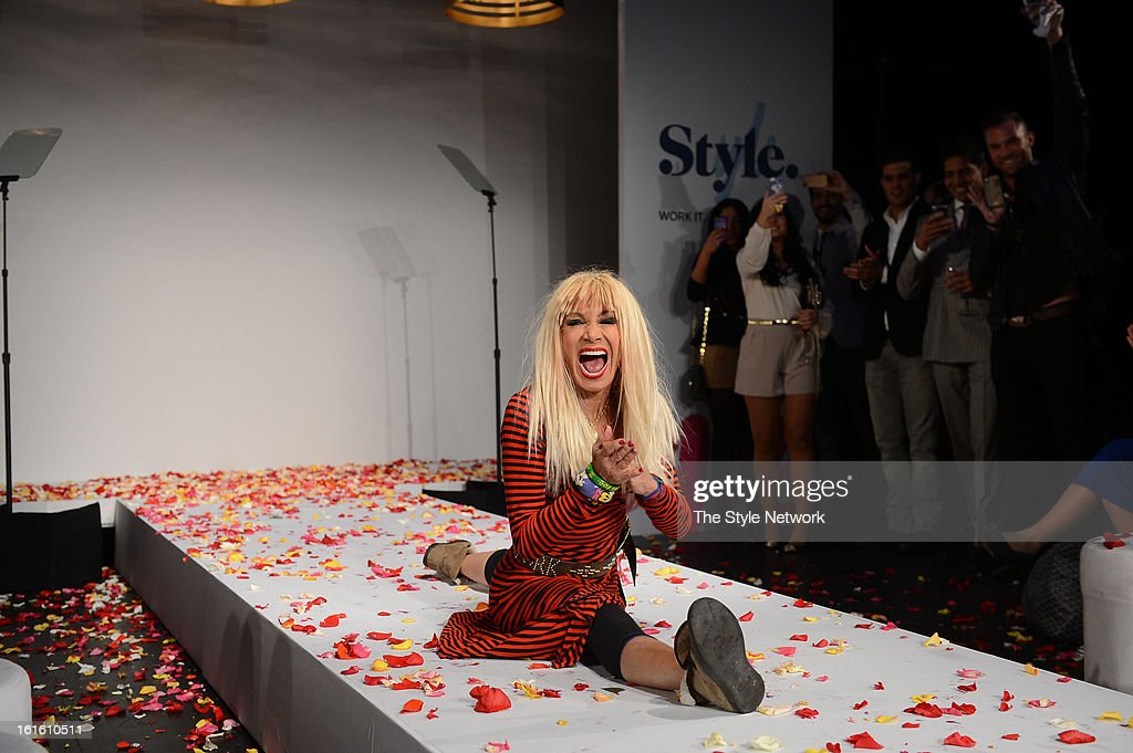 NETWORK - EVENTS -- Style Fashion Week Event -- Pictured: Betsey Johnson at the Style Fashion Week Event on Tuesday, February 12, 2013 at Lincoln Center in New York --