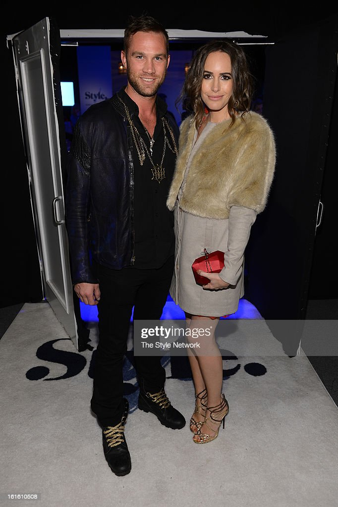 NETWORK - EVENTS -- Style Fashion Week Event -- Pictured: (l-r) Gage Cass and Louise Roe at the Style Fashion Week Event on Tuesday, February 12, 2013 at Lincoln Center in New York --