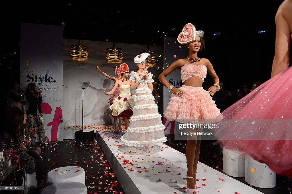 NETWORK - EVENTS -- Style Fashion Week Event -- Pictured: Models at the Style Fashion Week Event on Tuesday, February 12, 2013 at Lincoln Center in New York --